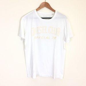 Diesel club t shirt tee